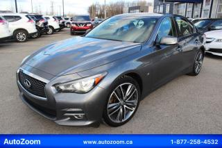 Used 2015 Infiniti Q50 4DR SDN AWD for sale in Laval, QC
