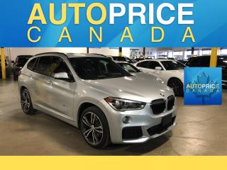 Used 2017 BMW X1 xDrive28i M-SPORT PKG|NAVIGATION|PANOROOF for sale in Mississauga, ON