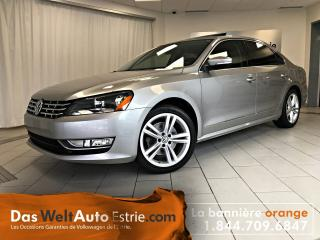 Used 2014 Volkswagen Passat 2.0 TDI Comfortline, Automatique Bas Kilo! for sale in Sherbrooke, QC