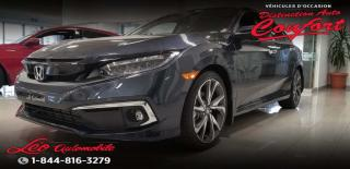 Used 2019 Honda Civic Touring CVT for sale in Chicoutimi, QC