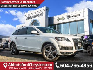 Used 2015 Audi Q7 3.0 TDI Vorsprung Edition *ACCIDENT FREE* *LOCALLY DRIVEN* for sale in Abbotsford, BC