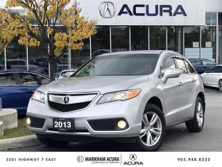 Used 2013 Acura RDX Tech Package 6sp at AWD, Navi, Backup Camera for sale in Markham, ON