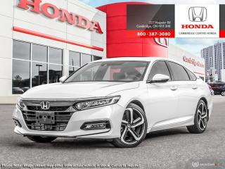 New 2020 Honda Accord Sport 1.5T SPORT for sale in Cambridge, ON