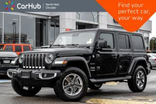 New 2020 Jeep Wrangler Unlimited Sahara|KeyLess-Go.Customr-Prefrd.Adv_Safety.Pkgs|Apline.Audio| for sale in Thornhill, ON