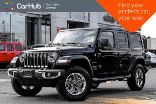 New 2020 Jeep Wrangler Unlimited Sahara|Sky.Power.Soft.Top.Adv_Safety.Pkgs|Keyless|Apline.Audio| for sale in Thornhill, ON