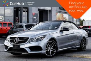 Used 2016 Mercedes-Benz E-Class E 400|AMG-Sports.Parking.Night.Pkgs|H/K.Audio|Adapt.Cruise for sale in Thornhill, ON