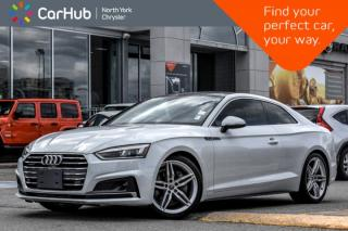 Used 2018 Audi A5 Coupe Technik|S-Line.Pkg|head-Up.Display|Bang&Olufsen.Audio|Adapt.Cruise| for sale in Thornhill, ON