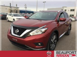 Used 2015 Nissan Murano PLATINUM AWD ***BALANCE GARANTIE*** for sale in Beauport, QC