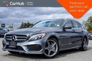 Used 2018 Mercedes-Benz C-Class C 300 4Matic Wagon|Navi|Pano Sunroof|Bluetooth|Blind Spot|Keyless|Heated Front Seats|17