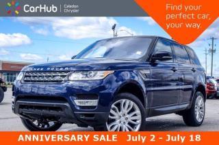 Used 2017 Land Rover Range Rover Sport V6 HSE|4x4|Navi|Pano Sunroof|Backup Cam|Bluetooth|R-Start|20