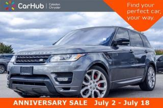 Used 2016 Land Rover Range Rover Sport V8 Supercharged|4x4|Navi|Pano Sunroof|Bluetooth|Heated Front &Rear Seats|20