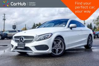 Used 2018 Mercedes-Benz C-Class C 300 4Matic Coupe|Navi|Bluetooth|Blind Spot|Backup Cam|Keyless|Heated Front Seats|18
