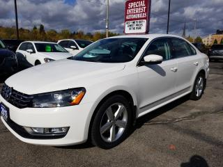 Used 2013 Volkswagen Passat 2.0 TDI Comfortline DIESEL !!  SUNROOF !! BLUE TOOTH !! for sale in Cambridge, ON