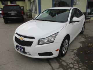 Used 2014 Chevrolet Cruze GAS SAVING 1-LT EDITION 5 PASSENGER 1.4L - TURBO.. TOUCH SCREEN.. BACK-UP CAMERA.. BLUETOOTH SYSTEM.. KEYLESS ENTRY.. for sale in Bradford, ON