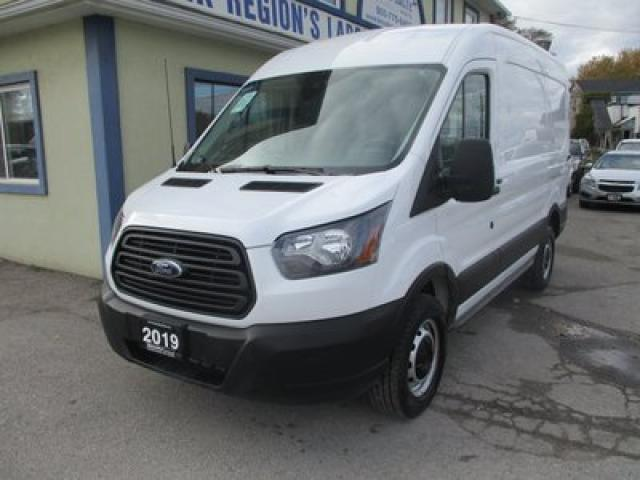 "2019 Ford Transit 3/4 TON CARGO MOVING 2 PASSENGER 3.7L - V6.. MEDIUM ROOF.. 130"" WHEEL BASE.. BACK-UP CAMERA.. SLIDING MIDDLE DOOR.. AIR CONDITIONING.."