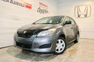 Used 2012 Toyota Matrix Traction for sale in Blainville, QC