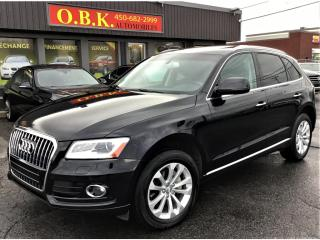 Used 2016 Audi Q5 QUATTRO-TOIT PANORAMIQUE-NAVIGATION-CAM DE RECUL for sale in Laval, QC