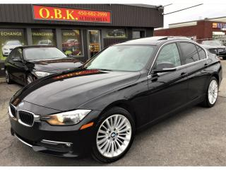 Used 2015 BMW 3 Series AWD-TOIT OUVRANT-BLUETOOTH-CUIR-AUTOMATIQUE for sale in Laval, QC