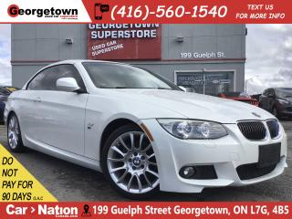 Used 2013 BMW 3 Series Cabriolet 328i | NAVI | LEATHER | PARK SENSORS for sale in Georgetown, ON