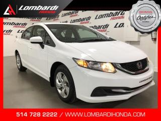 Used 2015 Honda Civic LX|AUCUN ACCIDENT| for sale in Montréal, QC