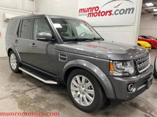 Used 2016 Land Rover LR4 4WD 4dr 3.0L V6 pano roof bluetooth 7psgr BLISS for sale in St. George Brant, ON