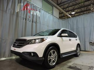 Used 2012 Honda CR-V Touring **Gps**Toit Ouvrant**Cuir** for sale in Rouyn-Noranda, QC