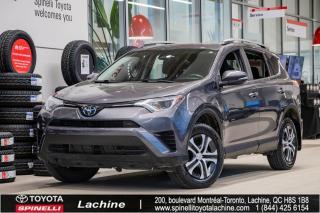Used 2017 Toyota RAV4 LE - FWD SIÈGES CHAUFFANT! BLUETOOTH! CAMÉRA DE RECUL! AIR CLIMATISÉ! UN PROPRIÉTAIRE! SUPER PRIX! for sale in Lachine, QC