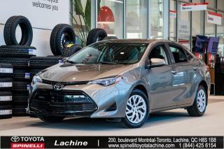 Used 2017 Toyota Corolla LE IMPECCABLE!BAS KILOMÉTRAGE! SIÈGES CHAUFFANT! BLUETOOTH! CAMÉRA! UN PROPRIÉTAIRE! FAITES VITE! for sale in Lachine, QC