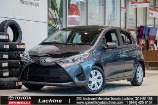 Used 2018 Toyota Yaris Hatchback LE IMPECCABLE! SIÈGES CHAUFFANT! BLUETOOTH! CAMÉRA DE RECUL! BAS KILOMÉTRAGE! SUPER PRIX! FAITES VITE! for sale in Lachine, QC