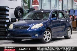 Used 2006 Toyota Matrix XR *VÉHICULE VENDU TEL QUEL*UN PROPRIÉTAIRE! MAGS! TOIT OUVRANT! SUPER PRIX! FAITES VITE! for sale in Lachine, QC