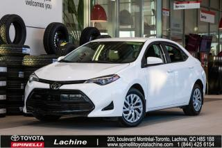 Used 2017 Toyota Corolla LE SUPER PROPRE! SIÈGES CHAUFFANT! BLUETOOTH! CAMÉRA DE RECUL! SUPER PRIX! FAITES VITE! for sale in Lachine, QC