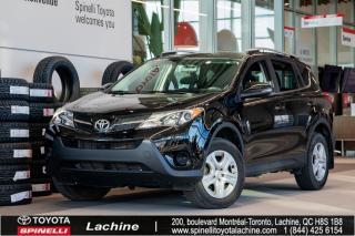 Used 2014 Toyota RAV4 LE - FWD AIR CLIMATISÉ! CAMERA DE RECUL! SIÈGES CHAUFFANT! BLUETOOTH! UN PROPRIÉTAIRE! BAS KILOMÉTRAGE! for sale in Lachine, QC