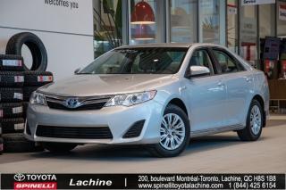 Used 2014 Toyota Camry Hybride LE VÉHICULE RARE!! HYBRIDE!! BLUETOOTH! CAMÉRA DE RECUL! UN PROPRIÉTAIRE! SUPER PRIX! FAITES VITE! for sale in Lachine, QC
