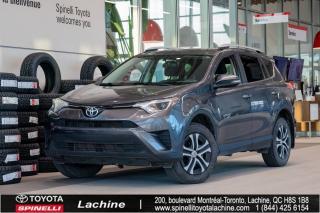 Used 2016 Toyota RAV4 LE - FWD SUPER PROPRE! CAMÉRA DE RECUL! AIR CLIMATISÉ! SIÈGES CHAUFFANT! BLUETOOTH! SUPER PRIX! FAITES VITE! for sale in Lachine, QC
