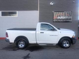 Used 2012 RAM 1500 Cabine ordinaire 2RM, 120,5 po ST for sale in Québec, QC