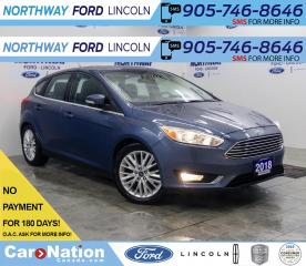 Used 2018 Ford Focus Titanium | HTD LEATHER | SUNROOF | TOUCHSCREEN | for sale in Brantford, ON