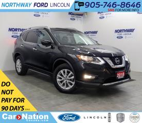 Used 2018 Nissan Rogue SV | AWD | PWR HTD SEATS | PANO ROOF | for sale in Brantford, ON