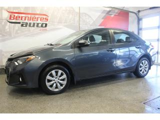 Used 2015 Toyota Corolla S for sale in Lévis, QC