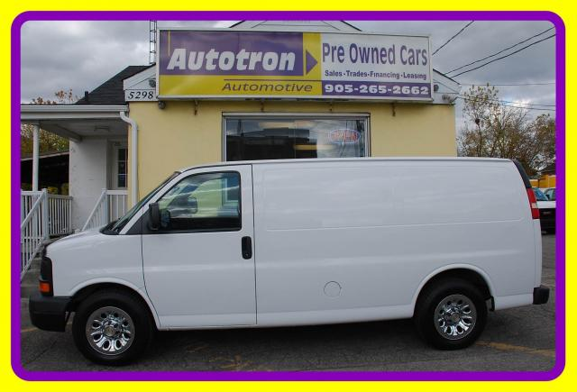 2012 Chevrolet Express 1500 1/2 Ton Cargo Van, A/C Shelves