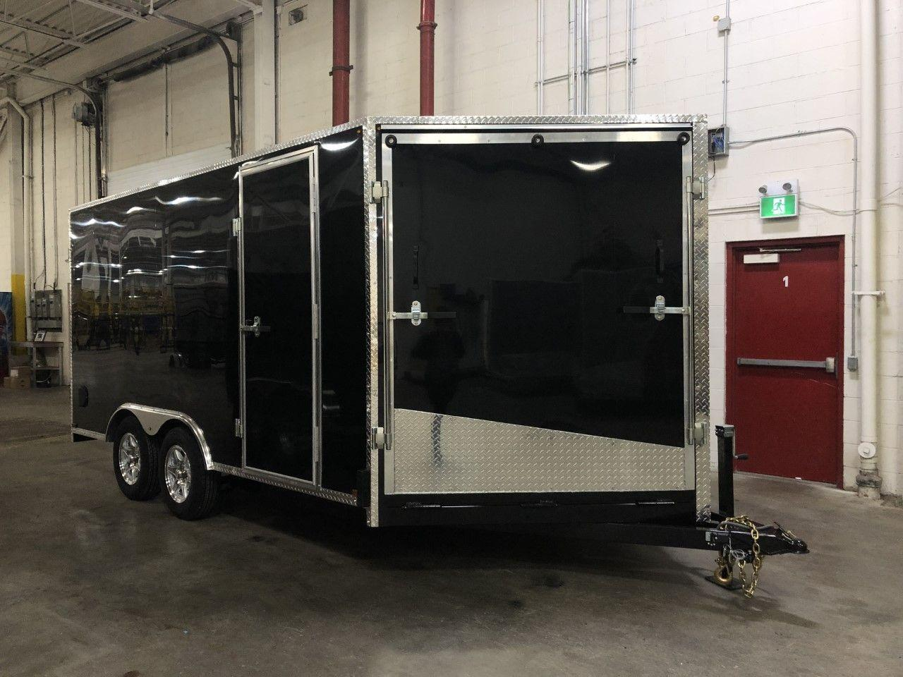 2020 Canadian Trailer Company 8.5X18 V-Nose Cargo Trailer