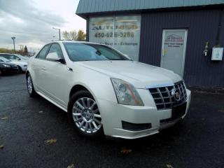 Used 2012 Cadillac CTS ***BAS KILOMETRAGE,CUIR,PNEUS D'HIVER*** for sale in Longueuil, QC