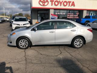 Used 2017 Toyota Corolla LE auto Heated Seats back up camera for sale in Cambridge, ON