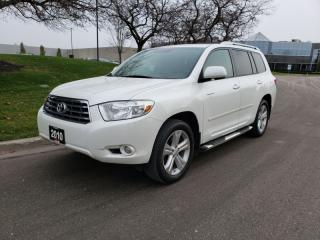 Used 2010 Toyota Highlander 4WD 4dr V6 Limited | Navi | Accident-Free | 1 Owner for sale in Vaughan, ON