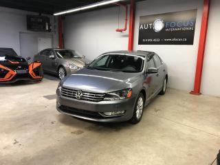 Used 2014 Volkswagen Passat TDI AUTO, AIR CLIMATISÉ, TOUTE ÉQUIPÉE,B for sale in Montréal, QC