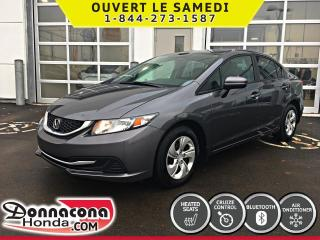 Used 2015 Honda Civic LX *GARANTIE 10 ANS/ 200 000 KM* for sale in Donnacona, QC