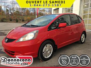 Used 2009 Honda Fit LX *AUTOMATIQUE* CRUISE, AIR* for sale in Donnacona, QC