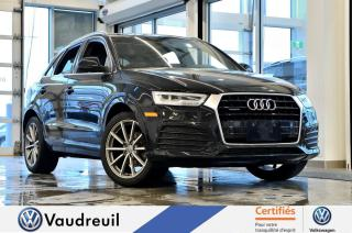 Used 2016 Audi Q3 2.0T Technik quattro * S-LINE * NAV for sale in Vaudreuil-Dorion, QC
