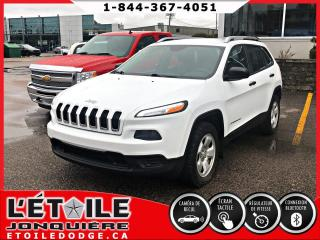 Used 2014 Jeep Cherokee SPORT 4X4, DEMARREUR A DISTANCE, CAMERA for sale in Jonquière, QC