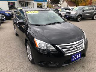 Used 2014 Nissan Sentra SL for sale in St Catharines, ON