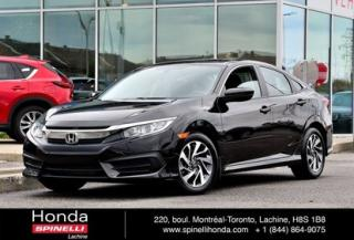 Used 2016 Honda Civic EX DEAL PENDING AUTO TRÈS BAS KM AUTO AC MAGS TOIT OUVRANT BLUETOOTH CAM RECUL++ for sale in Lachine, QC